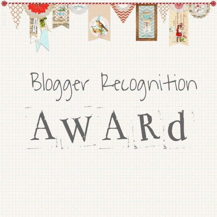 Blogger Recognition Award: sono stata nominata!